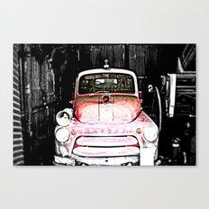 Dodge fire Truck Canvas Print