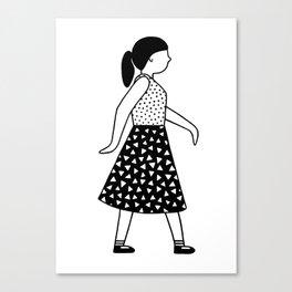 Gerd Girl 2 Canvas Print