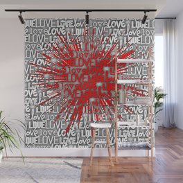 Explosion of Love Wall Mural