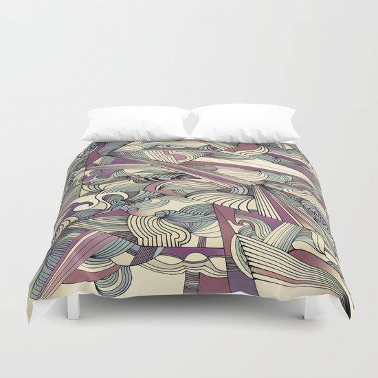 When my Mind Goes Boom. Duvet Cover
