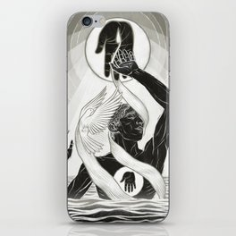 CREATION - MONOCHROME iPhone Skin