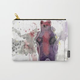 Bear standing up Carry-All Pouch