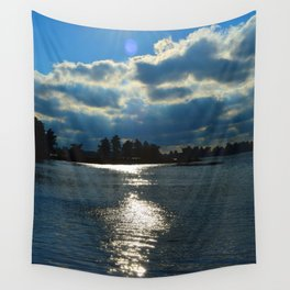 Sunkissed Waters Wall Tapestry