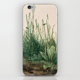 The Large Piece of Turf  iPhone Skin