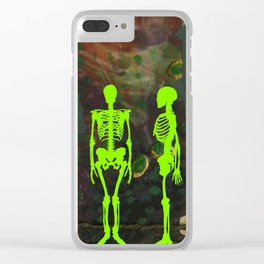 La Petite Mort, No. 4 Clear iPhone Case
