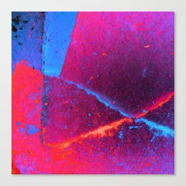 Intersection Colorful Abstract Canvas Print