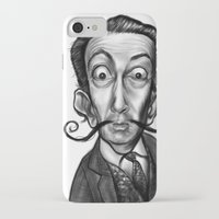 dali iPhone & iPod Cases featuring Dali by Rubiao Ferraz Cozer