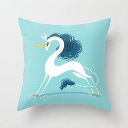 Snek Unicorn I Throw Pillow