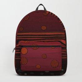 New horizon red Backpack