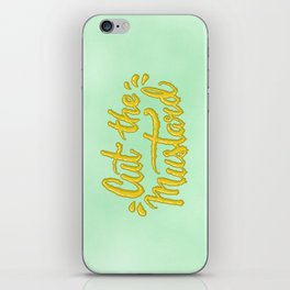 Cut the Mustard iPhone Skin