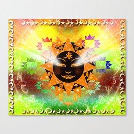 Celestial Lights Canvas Print