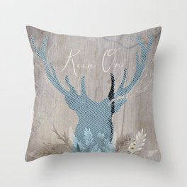 Rein On Throw Pillow