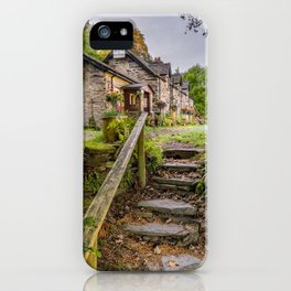 Quaint Tea Room iPhone Case