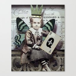 Good To Be Queen Canvas Print