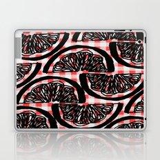 Orange Check  Laptop & iPad Skin