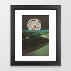 spinster Framed Art Print