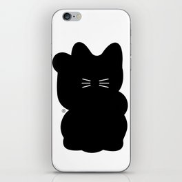 Maneki-neko iPhone Skin
