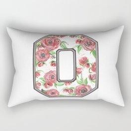 Buckeye O of Roses. Rectangular Pillow