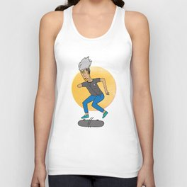 Skater, like no other Unisex Tank Top