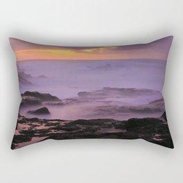 Seascape at sunset Rectangular Pillow