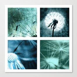 Dandelion art Canvas Print