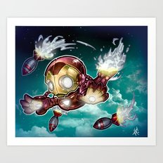 lil' Iron Dude Art Print