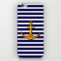 marine iPhone & iPod Skins featuring Marine by Elena Indolfi
