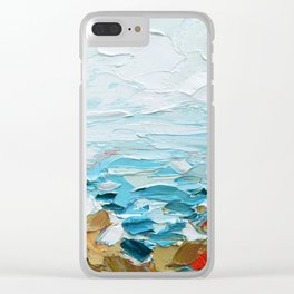 Pacific Shore No. 2 Clear iPhone Case
