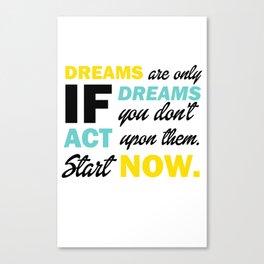 Dreamers Canvas Print