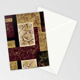Crackle2 Stationery Cards