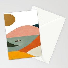 El Barquero print Stationery Cards