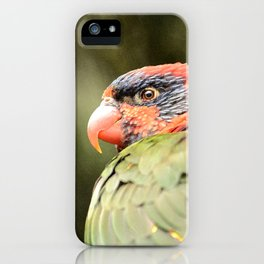 Tropical Bird iPhone Case