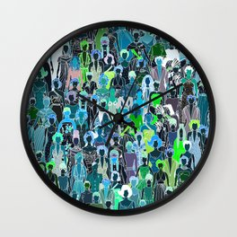 Little Mermaids Wall Clock