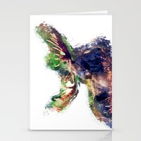 moose Stationery Cards featuring Moose by jbjart
