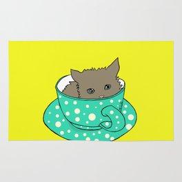 Kitten In A Teacup Rug