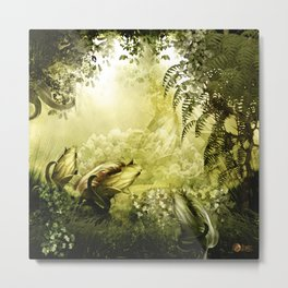"""""""Catch (Forest)"""" Metal Print"""