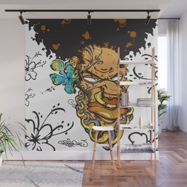 Momand'loup Wall Mural