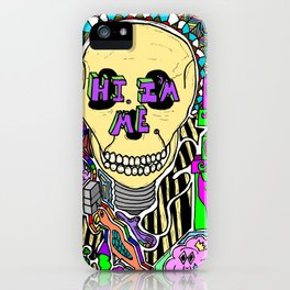 HIM iPhone Case