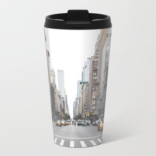 Urban Adventure NYC Metal Travel Mug