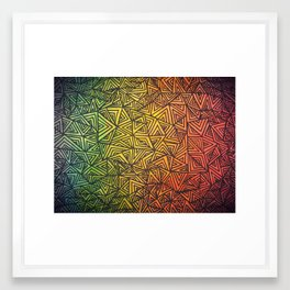 infinite desire. Framed Art Print