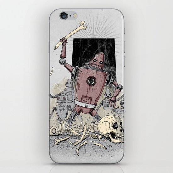 The Dusk of Man iPhone & iPod Skin