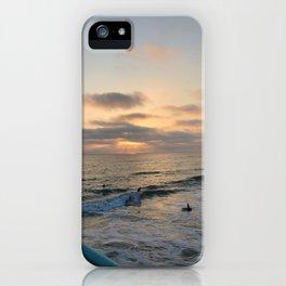 Sunset Swim iPhone Case