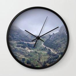 Picos de Europa Wall Clock