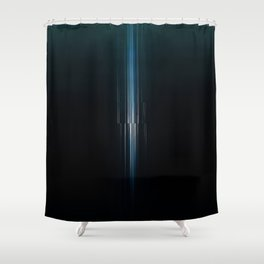 VERTICALITY Shower Curtain