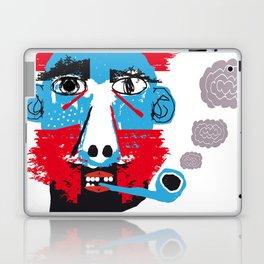 Hombre con pipa Laptop & iPad Skin