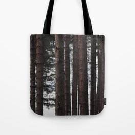 Through the Trees - Nature Photography Tote Bag