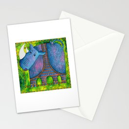 Patterned Rhino Stationery Cards