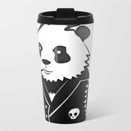Punk Panda Metal Travel Mug