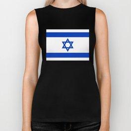 National flag of Israel Biker Tank