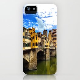 Ponte Vecchio in Firenze / Florence iPhone Case